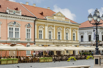 Timișoara Piața Unirii Casa Krautwaschl