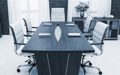 meeting table in a office