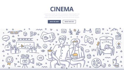 Cinema Doodle Concept
