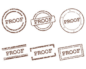 Proof Stempel