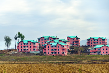 North Korea. Countryside