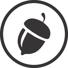 Contains Nuts Symbol for Food Packaging Label