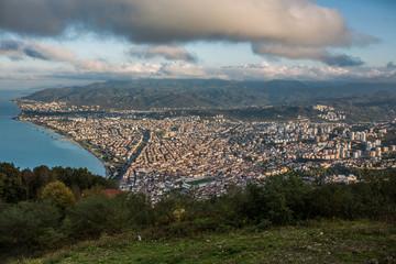 Fotomurales - Ordu City in Turkey