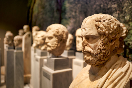 Athens Greece. The National Archaeological Museum