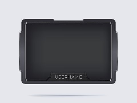 Game streaming overlay .
