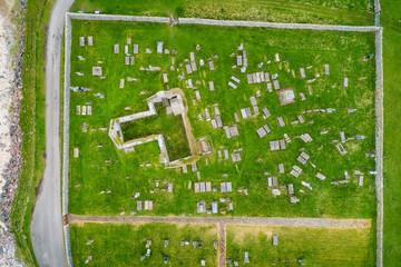 Ruin of a church in Balnakeil