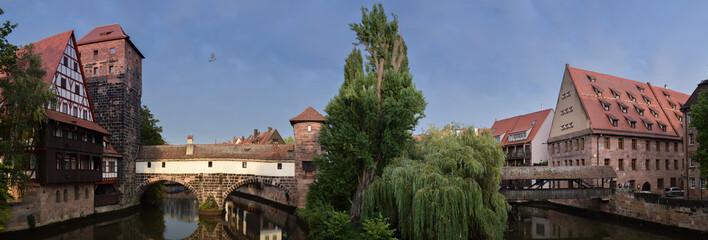 Fotomurales - Norimberga - fiume Pegnitz