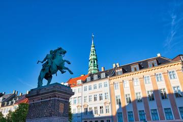 Copenhagen, Typical Danish architecture in the historic city center