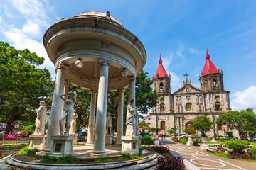 Molo Church of Iloilo Province in the the Philippines