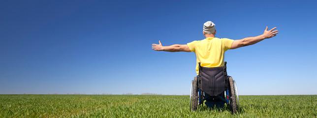 Entschlossenheit trotz Handicap