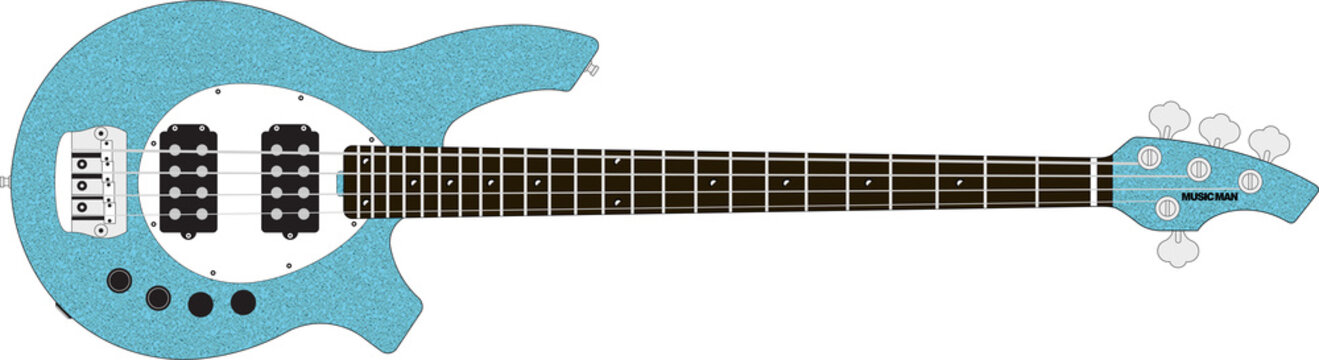 Musicman Bass Guitar - colour options included