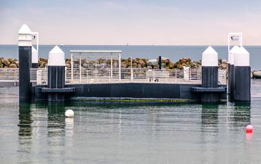 Kiel Schilksee ferry dock, Schleswig Holstein, Germany
