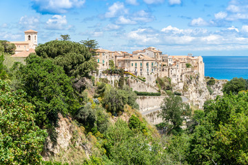 Beautiful town of Tropea in Calabria, Italy