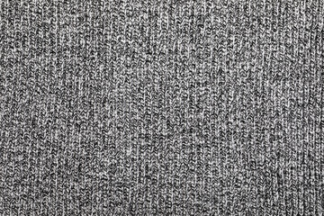 Heather grey knitted fabric textured background