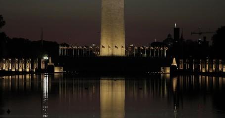 Fototapete - Washington Monument in DC