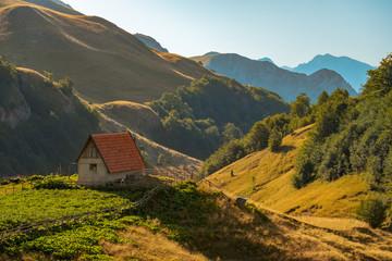 Zelengora landscape, National park Sutjeska