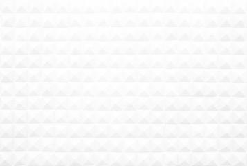 White Diamond Shape Studs Concrete Wall Texture Background.