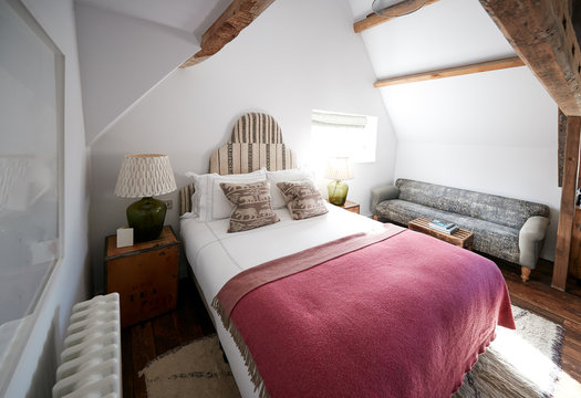 Interior Of Guest Room In Bed And Breakfast Hotel