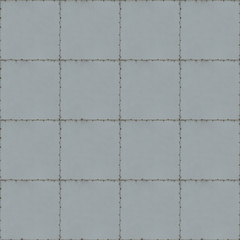 Tiled Metal Background With Seams and Screws