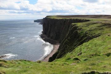 Steilküste bei Duncansby Stacks