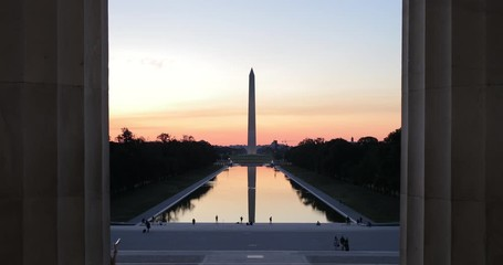 Fototapete - Washington Monument in DC