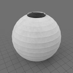 Japanese paper lantern 3