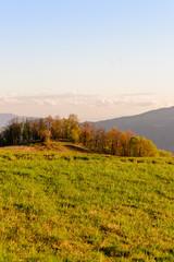 Foto op Plexiglas Panoramafoto s Apennines mountain landscape seen from the
