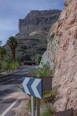 Gran Canaria Spain Moutains rocks copper