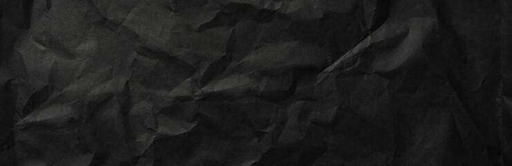 black paper texture background - banner Fototapete