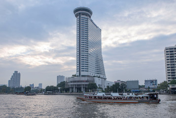 Thailand Bangkok river Chao Phraya