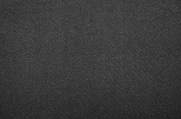 Foto op Plexiglas Stof Texture of black dense fabric.Dark fabric background.