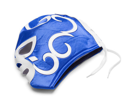 Lucha Mask Blue