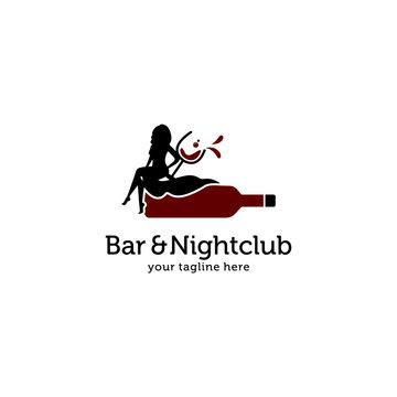 Bar and Nightclub Logo Vector
