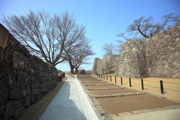 福島の城 白河小峰城