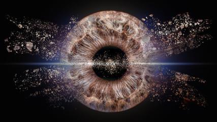 Photo sur Plexiglas Iris Iris Explosion