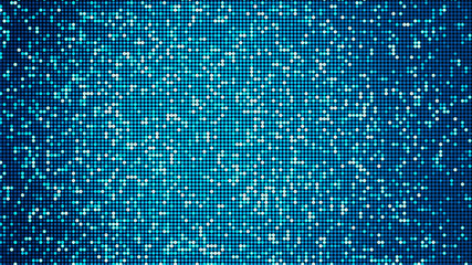 LED panel-like party, disco and celebration background - digitally generated image