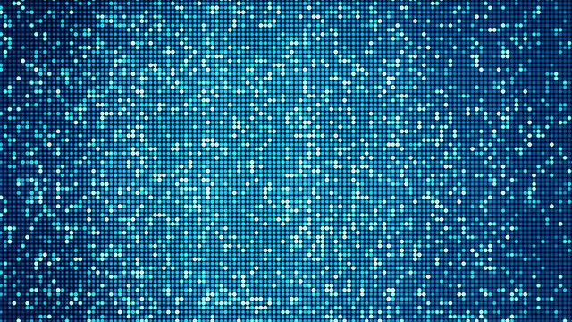LED panel-like party, disco and celebration background - digitally generated image