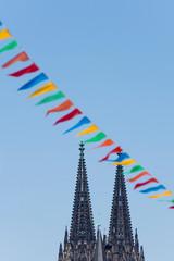 Köln, Dom, Karneval, Dekoration