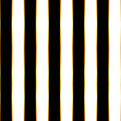 Luxury black and white striped seamless pattern.