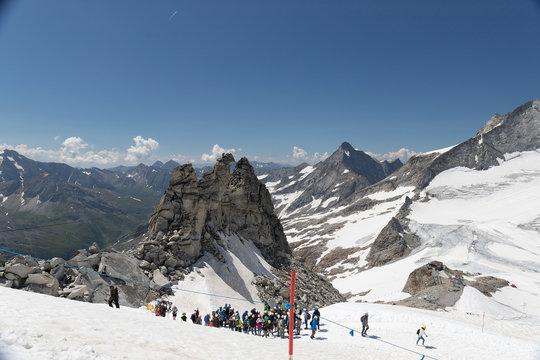 Hintertuxer Gletscher Wanderung