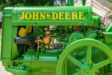 Restored Vintage John Deere Tractor
