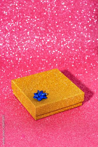 shiny gift box