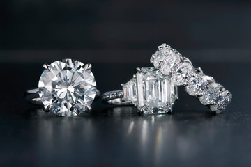 Large Diamond Jewelry