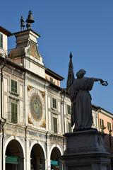 Wall Mural - Brescia - Piazza Loggia torre dell'orologio