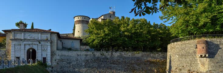 Fototapete - Brescia - Castello di Brescia