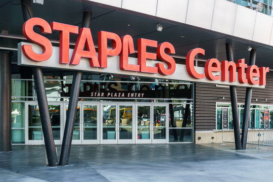 Staples Center Arena Entrace