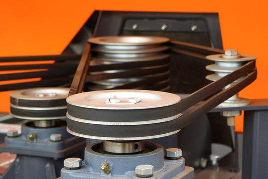 Image belt drive.