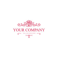 Framework of roses for cosmetics and beauty companies