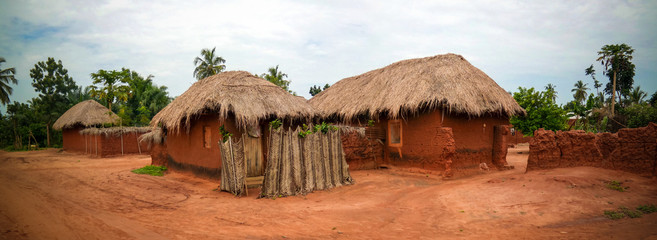 woodoo Village of Ewe aka Gen people . Anfoin, Togo