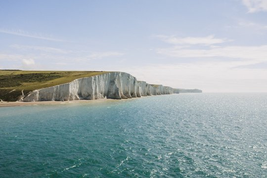 Beautiful shot of the Seven Sisters in East Sussex
